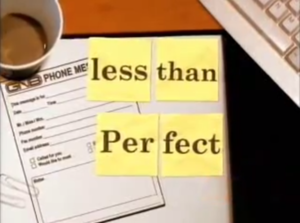 Less than Perfect - Season Four title card