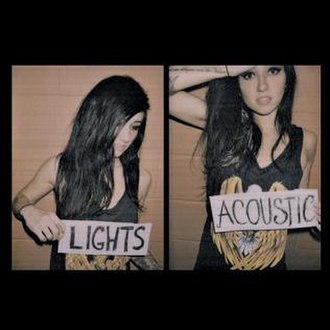 Acoustic (Lights EP) - Image: Lights Acoustic EP