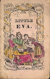 <i>Little Eva: The Flower of the South</i> 19th century childrens novel by Philip J. Cozans