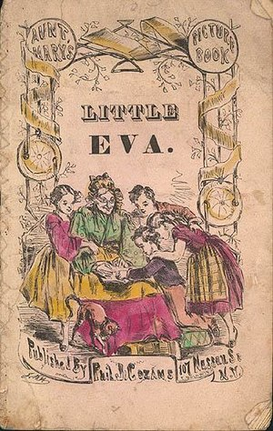 Little Eva: The Flower of the South - Cover of the original 1853 edition