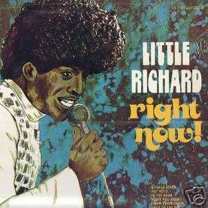 Right Now! (Little Richard album) - Image: Littlerichardrightno w