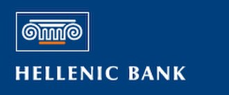 Hellenic Bank - Image: Logo of Hellenic Bank
