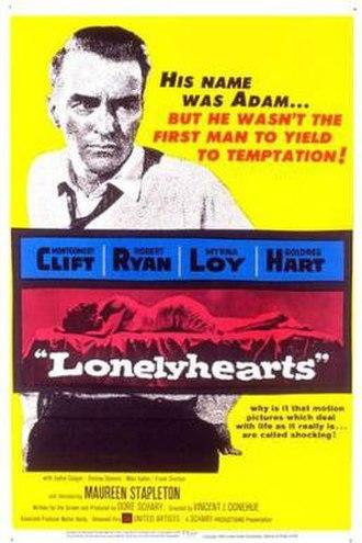 Lonelyhearts - Original Theatrical Poster