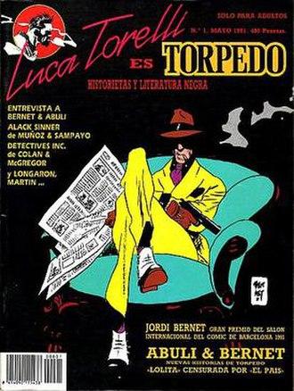 Enrique Sánchez Abulí - Luca Torelli es Torpedo Issue No.1 (1991)