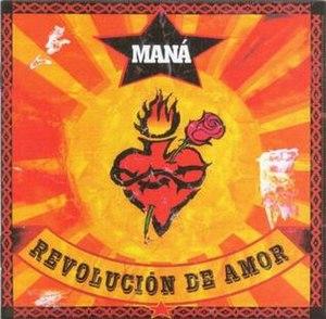 Revolución de Amor - Image: Maná Revolución De Amor cover small