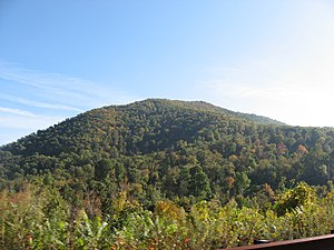Mary's Rock - Mary's Rock in Autumn