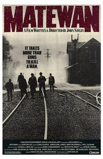 Matewan - Theatrical release poster