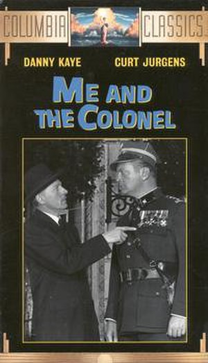 Me and the Colonel - VHS cover