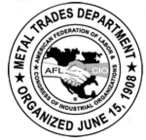 Metal Trades Department, AFL–CIO - Image: Metal Trades Department, AFL–CIO logo
