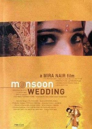 Monsoon Wedding - Image: Monsoon Wedding poster