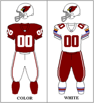 Arizona Cardinals - Arizona Cardinals uniform: 1996–2004