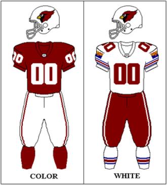 Arizona Cardinals - Arizona Cardinals uniform: 1996–2004