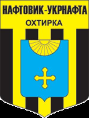 FC Naftovyk-Ukrnafta Okhtyrka - Club crest