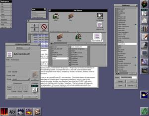 NeXTSTEP - Image: Ne XTSTEP desktop