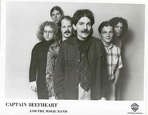 Captain Beefheart - Van Vliet and the new Magic Band.