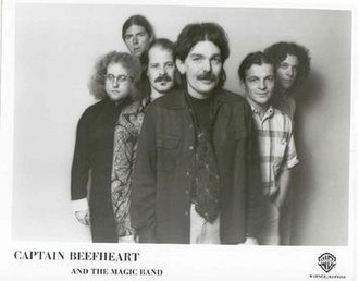 Captain Beefheart - Van Vliet and the new Magic Band.