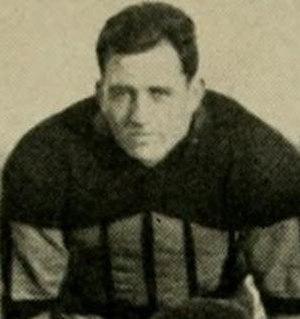 Norwood Sothoron - Sothoron on the Maryland football team in 1934
