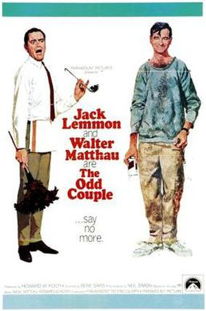 The Odd Couple (film) - Theatrical release poster