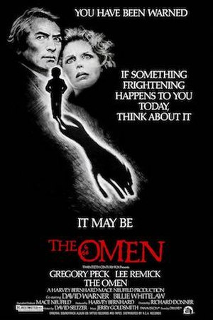 The Omen - Theatrical release poster by Tom Jung