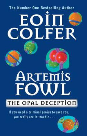 Artemis Fowl: The Opal Deception - First edition cover