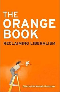 <i>The Orange Book: Reclaiming Liberalism</i> book by Paul Marshall