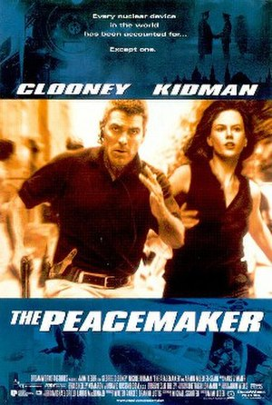The Peacemaker (1997 film) - Theatrical release poster