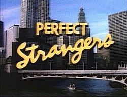 Title card for Perfect Strangers