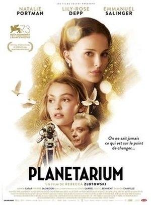 Planetarium (film) - Film poster
