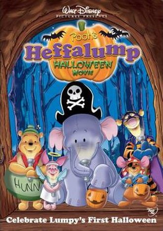 Pooh's Heffalump Halloween Movie - DVD cover