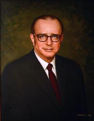 Richard J. Stonesifer - Presidential Portrait of Richard J. Stonesifer