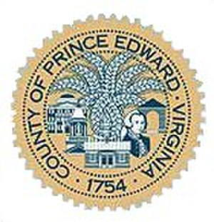 Prince Edward County, Virginia - Image: Prince Edward County va seal