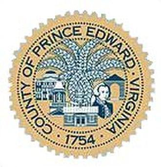 Prince Edward County, Virginia - Image: Prince Edward County va seal
