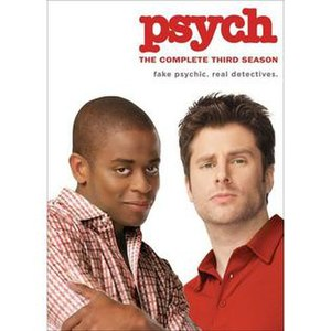 Psych (season 3) - Image: Psych season 3 DVD
