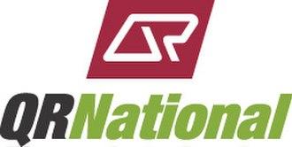 Aurizon - QR National logo (2004-2010)