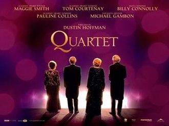 Quartet (2012 film) - Image: Quartet Poster