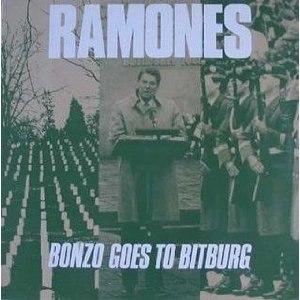 Bonzo Goes to Bitburg - Image: Ramones Bonzo Goes to Bitburg cover