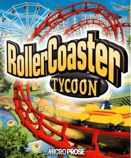 <i>RollerCoaster Tycoon</i> (video game) Amusement park construction and management simulation video game
