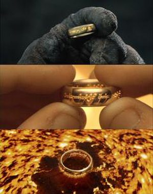 One Ring - The One Ring in Peter Jackson's films.
