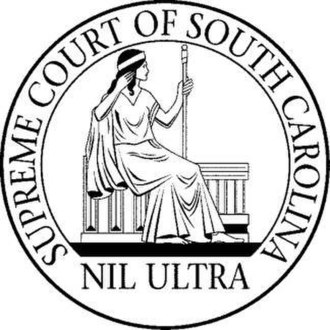 South Carolina Supreme Court - Image: SC Supreme Court Seal
