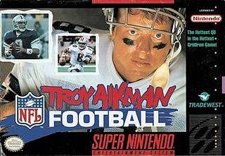 <i>Troy Aikman NFL Football</i> 1995 video game