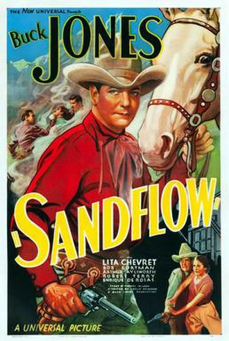 Sandflow - Theatrical release poster