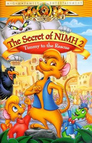 The Secret of NIMH 2: Timmy to the Rescue - Video cover