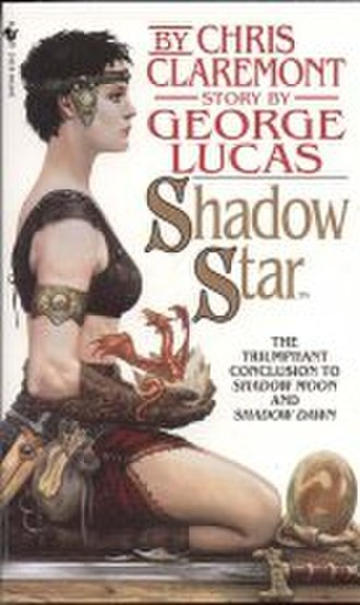 """Elora Danan - Teenage Elora Danan on the cover of the third book in the """"Chronicles of the Shadow War"""" trilogy, """"Shadow Star""""."""