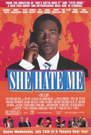 She Hate Me - Image: She Hate Me film poster