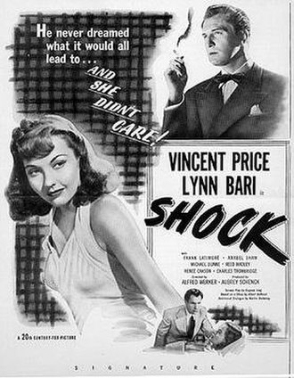 Shock (1946 film) - Theatrical release poster