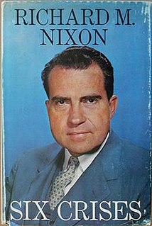 <i>Six Crises</i> book by Richard Nixon