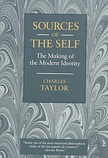 <i>Sources of the Self</i> book by Charles Taylor