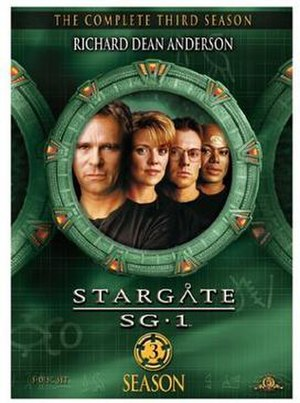 Stargate SG-1 (season 3) - DVD cover