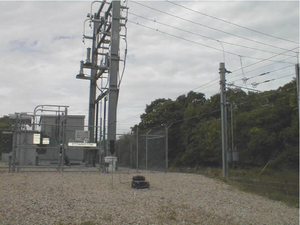 Amtrak's 60 Hz traction power system - Stonington Paralleling Station