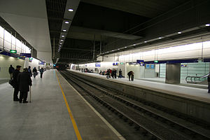 Thameslink - St Pancras International Thameslink platforms opened in 2007